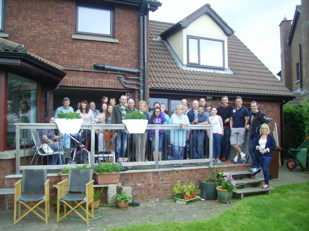 Some of the crowd at last year's club BBQ