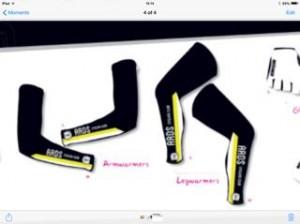 Ards CC Arm + Leg Warmers