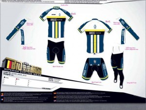 Ards CC Kit Design