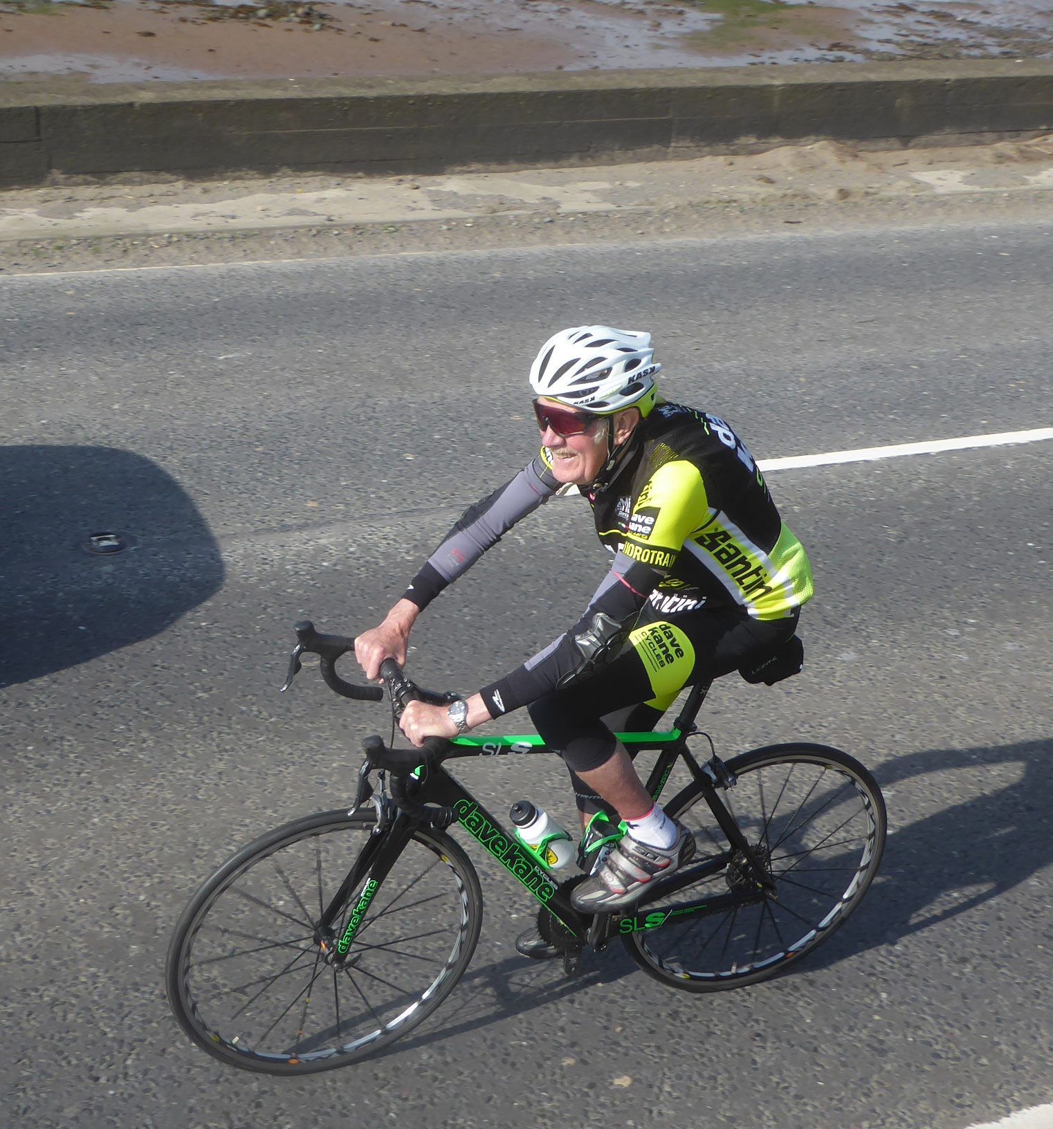 And finally - great to see Dave Kane still getting in the miles today